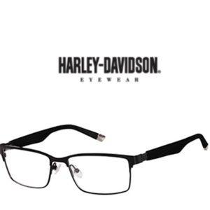 EUC Harley-Davidson HD472 Black Frame Men's RX Glasses